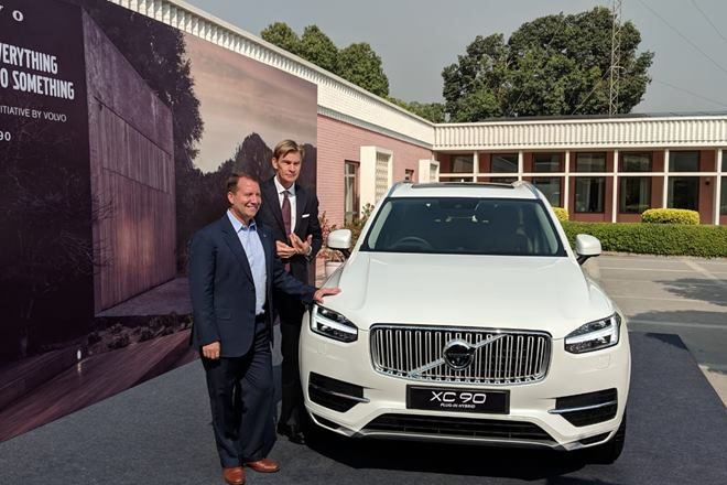 Volvo Racing Towards Smart Mobility In India With Hybrid Models